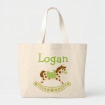 Green Rocking Horse Bags