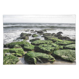Green Rocks Cloth Placemat