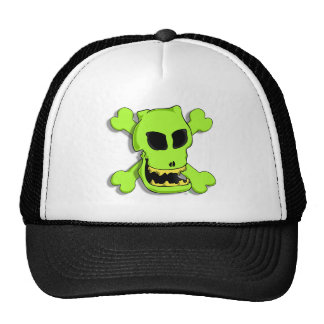 GREEN ROGER 1z Mesh Hats