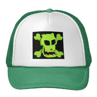GREEN ROGER 1zb Hats