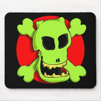 GREEN ROGER 2zr mousepad