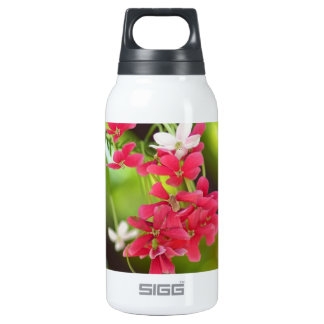 Green Roof- Beautiful flowers Insulated Water Bottle