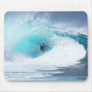 Green Room Banzai Pipeline Mouse Pad