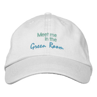 GREEN ROOM cap Embroidered Hat