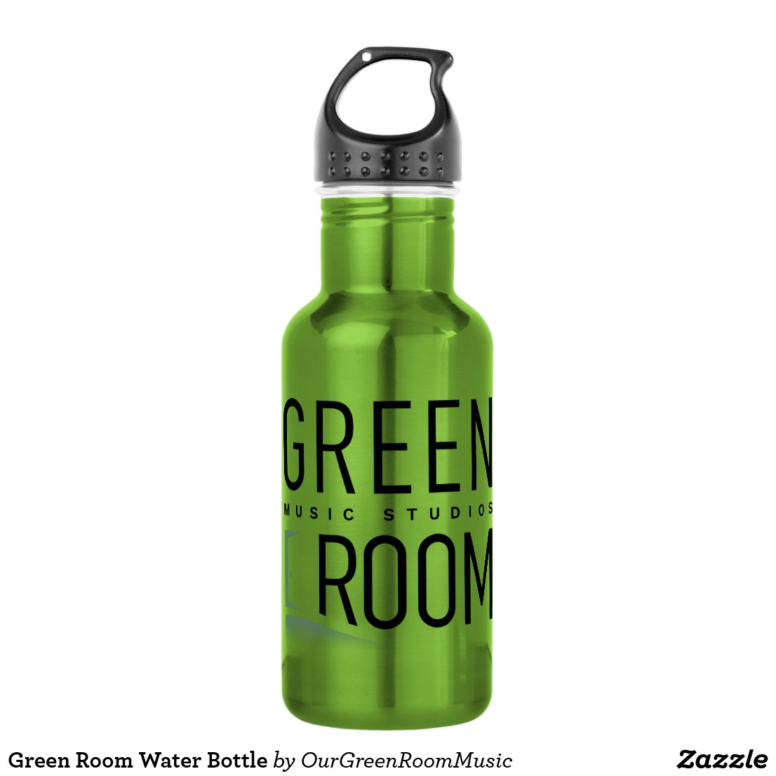 Green Room Water Bottle