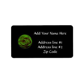 Green Rose Label