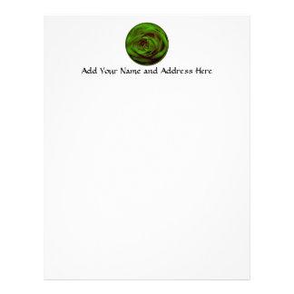 Green Rose Letterhead