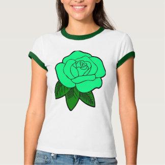 Green rose t-shirt