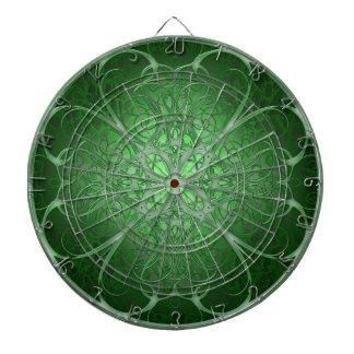 Green Rosetta Dart Boards