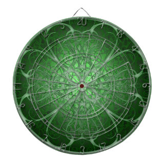 Green Rosetta Dartboard