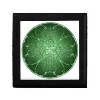 Green Rosetta Jewelry Boxes