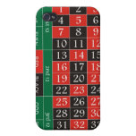 green roulette layout iPhone 4/4S cases