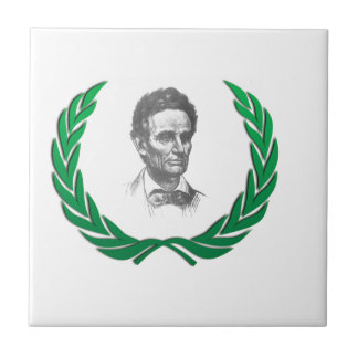 green round lincoln tile