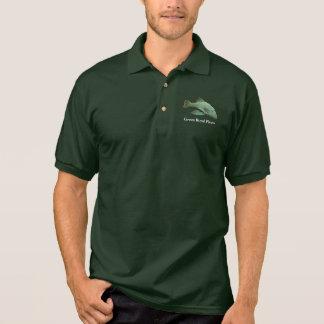 Green Royal Pleco Polo Shirt