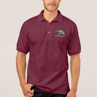 Green Royal Pleco Polo T-shirt
