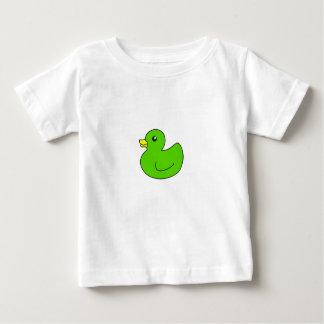 Green Rubber Duck Baby T-Shirt