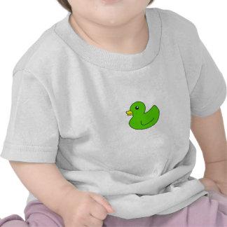 Green Rubber Duck T-shirts
