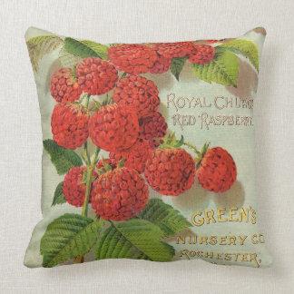 Green's Nursery Co. Advertisement Throw Pillow