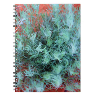 Green Sage on Red Sand Spiral Notebook