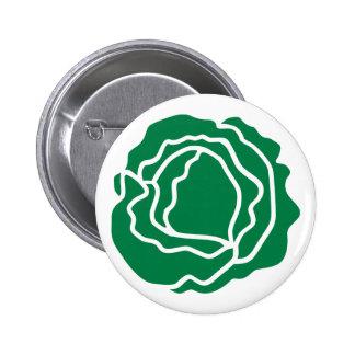 Green salad lettuce pins