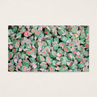 Green Salt Water Taffy Business Card