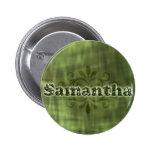 Green Samantha Pin