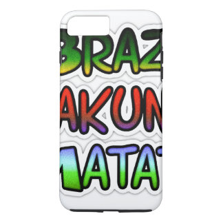 Green Samba Brazil Hakuna Matata Colors iPhone 8 Plus/7 Plus Case