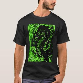 Green Samurai Spirit Dragon Tee