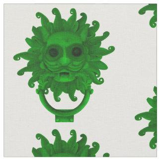Green Sanctuary Knocker or Hagoday Fabric