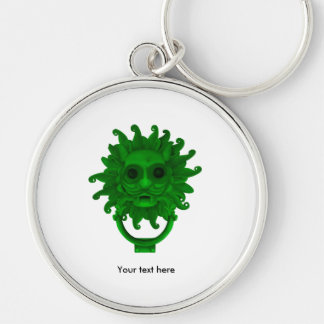 Green Sanctuary Knocker or Hagoday Keychain