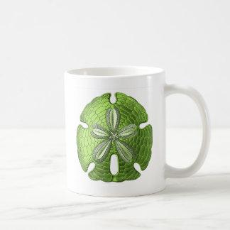 Green Sand Dollar Coffee Mug