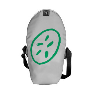 Green Sand Dollar Courier Bags