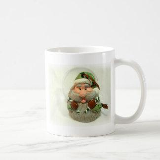 Green Santa Coffee Mug