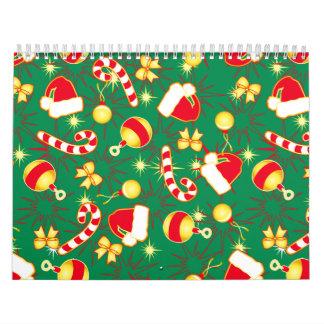 Green - Santa's cap Calendar