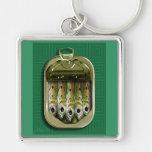 Green Sardines Keychains