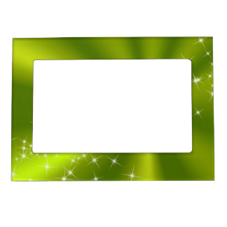Green Satin Magnetic Frame