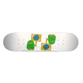 Green save me skate board decks