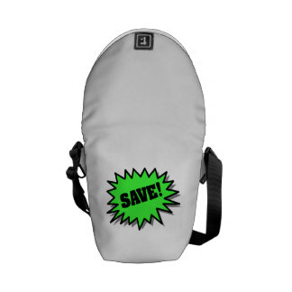 Green Save Courier Bag