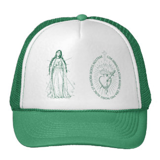 Green Scapular in Latin Trucker Hat