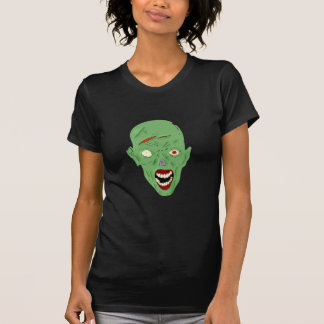 Green scarred zombie T-Shirt