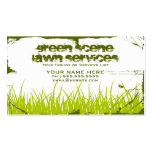 green scene grunge Double-Sided standard business cards (Pack of 100)