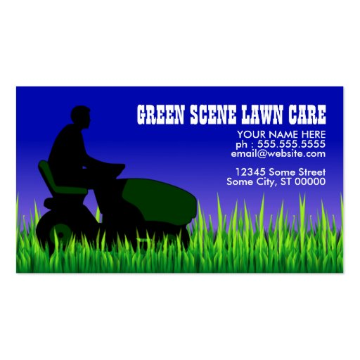 green scene lawn care business card r044702977164457ba8297c02e5278865 i579t 8byvr 512 Top Result 51 Beautiful Lawn Care Business Cards Photography 2018 Ldkt