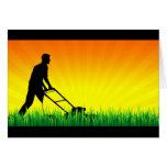 green scene lawn care cards