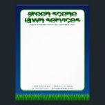 """green scene lawn services letterhead<br><div class=""""desc""""></div>"""