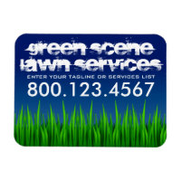 green scene lawn services magnet