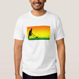 green scene lawn services shirt