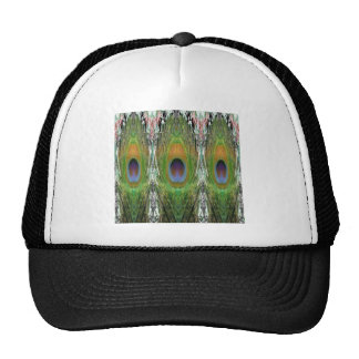 GREEN Scene - Peacock Feather Collection Trucker Hat