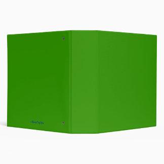 GREEN SCHOOL BINDER - BACK TO SCHOOL - SUPPLIES