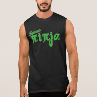 Green Science Ninja Sleeveless Shirt