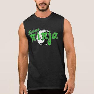 Green Science Ninja yin yang Sleeveless Shirt